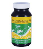 Each Metabalance 44® soft-gel capsule provides 80% of the recommended daily values for Vitamin C, 35% of the recommended daily values for Vitamin A and Iron and 8% of the recommended daily values for Calcium.